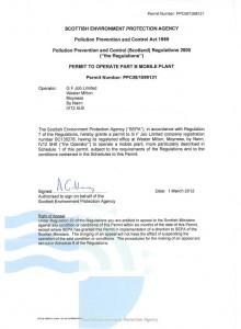 SEPA PPC Permit 1099